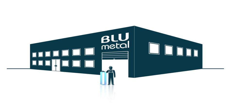 Blu Metal, finiture galvaniche personalizzate